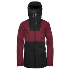 Jacke CLWR - Block Jacket Burgundy (743)