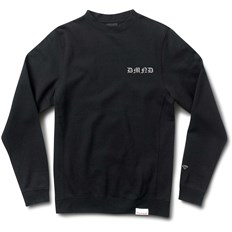 Sweatshirt DIAMOND - Hand Signs Crewneck Black (BLK)