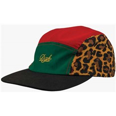 Cap DGK - Safari 5 Panel Cap Multi  (MULTI)