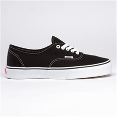 Schuhe VANS - Authentic Black/True White (BLK-8)