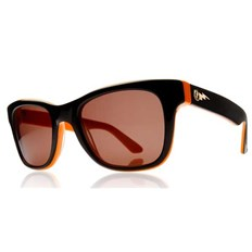 Sonnenbrille ELECTRIC - Detroit Hemi-Orange/Bronze + case (HEMI-ORANGE)