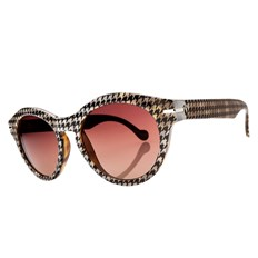 Sonnenbrille ELECTRIC - Potion Houndstooth/Brown Grdnt + case (HOUNDSTOOTH)