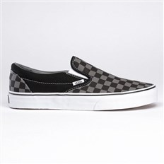 Schuhe VANS - Vans Classic Slip-On black pewter checkerboard (BPJ)