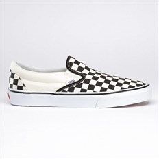 Schuhe VANS - Classic Slip-On Checker/White (BWW)