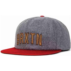 Cap BRIXTON - Hamilton Heather Grey/Red (0338)