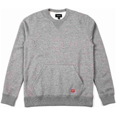 Sweatshirt BRIXTON - Hoover Crew Heather Grey 0304 (0304)