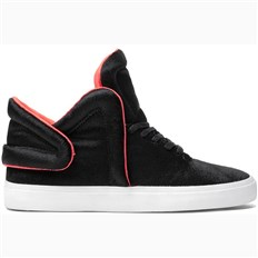Shoes SUPRA - Falcon Black/Neon Orange (BLK)