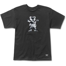 Tshirt GRIZZLY - Storm Front Og Bear Tee Black (BLK)