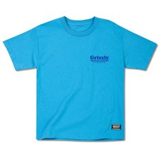 Tshirt GRIZZLY - Pool Service Youth Tee Turquoise (TURQ)
