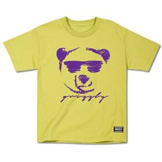 Tshirt GRIZZLY - Coolin Youth Tee Yellow (YELL)