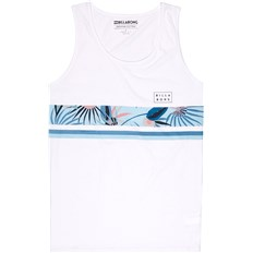 Leibchen BILLABONG - Team Stripe Tank White  (10)