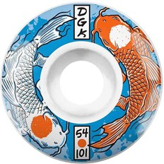 Rollen DGK - Yin Yang Wheels  (WHITE)