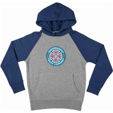 Sweatshirt INDEPENDENT - Combi TC Raglan Navy/Dark Heather (NAVY-DARK HEATHER)