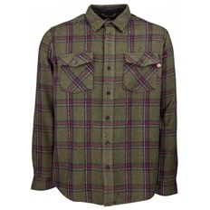Hemd INDEPENDENT - Chainsaw Shirt Military Plaid (MILITARY PLAID)