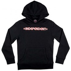 Sweatshirt INDEPENDENT - Bar Cross Black (BLACK)