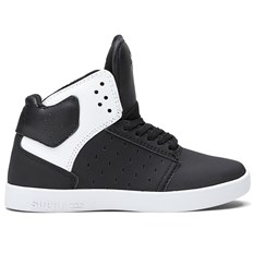 Schuhe SUPRA - High Kids Atom Black/White (BWW)