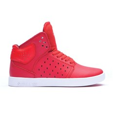Schuhe SUPRA - Kids Atom Red-White (RED)