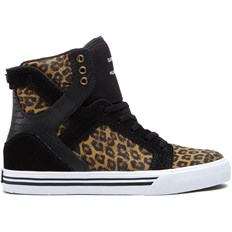 Schuhe SUPRA - Kids-Skytop High Black/Cheetah-White (BCT)