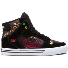 Schuhe SUPRA - Kids Vaider High Black/Multicolor - White (BMU)