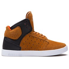 Schuhe SUPRA - Kids Atom High Brown/Black (BNB)