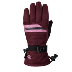 Handschuhe 686 - Youth Heat Insl Glove Wine Melange (WNE)