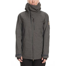 Jacke 686 - Glcr Hydra Insulated Jkt Charcoal Heather (CHT)