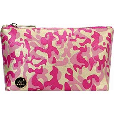 Make-Up Tasche MI-PAC - Make Up Bag Metallic Camo Gold/Pink (015)