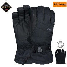 Handschuhe POW - Warner Gtx Long Glove Black (BK)