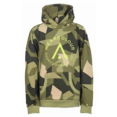 Sweatshirt CLWR - Patch Hood Asymmetric Olive (510)