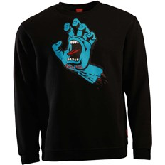 Sweatshirt SANTA CRUZ - Screaming Hand Black (BLACK)