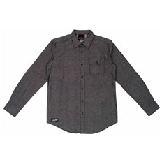 SANTA CRUZ - Lowered Shirt L/S Black Chambray (BLACK CHAMBRAY)