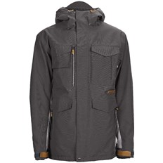 Jacke SESSIONS - Ransack Insulated Jacket Dark Grey-Concrete (DKG)