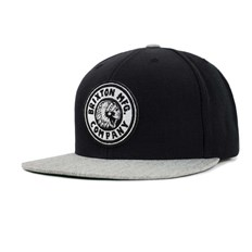 Cap BRIXTON - Rival Snapback Black/Heather Grey (BKHTG)