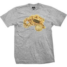 Tshirt DGK - Medallion Ath Heather (ATH HEATHER)
