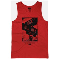 Leibchen DGK - Streets Tank Red (RED)