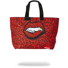 Umhängetasche SPRAYGROUND - Red Leopard Lips Tote Bag (MULTI)