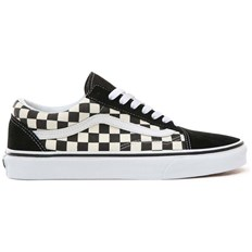 Schuhe VANS - Old Skool (Primary Check) Blk/White (P0S)