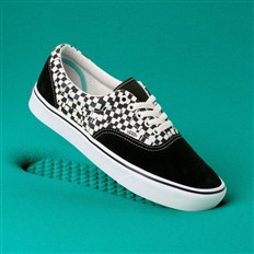 Schuhe VANS - Comfycush Era (Tear Check) Blk/True Wht (V9Y)