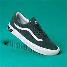 Schuhe VANS - Comfycush Old Skool (Distort)Trking Gr/Tr Wht (VWX)