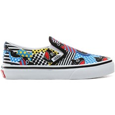 Schuhe VANS - Classic Slip-On (Shark Week)Phin/True Wht (V9D)