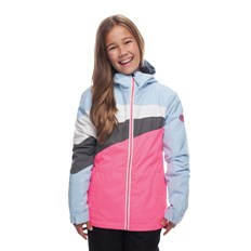 Jacke 686 - Girls Ray Insl Jkt Ice Blue Clrblk (ICBL)