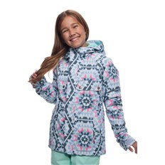 Jacke 686 - Girls Dream Insl Jkt Ice Blue Carousel (ICBL)