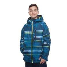 Jacke 686 - Boys Jinx Insl Jkt Bluebird Stripes (STRP)