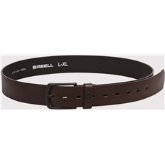 Gürtel REELL - All Black Buckle Belt Brown (BROWN)