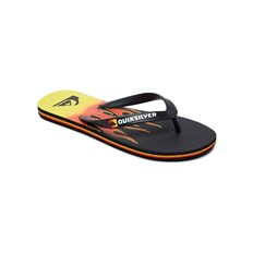 Flip-Flops QUIKSILVER - Molokai Fire Black/Yellow/Red (XKYR)