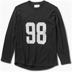 Sweatshirt DIAMOND - Jackson Football Top Black (BLK)