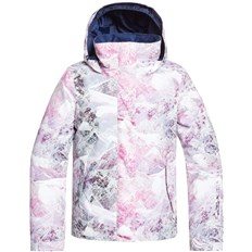 Jacke ROXY - Roxy Jetty Girl Jk Bright White Mysterious View (WBB2)