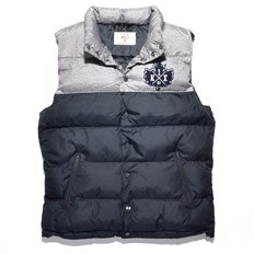 Weste K1X - Pa Vest Dark Grey Heather/Navy (8486)