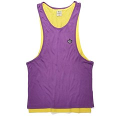 Leibchen K1X - Authentic Double Layer Yellow/Purple (2408)