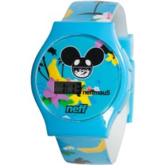 Uhr NEFF - Mau5 Watch (BLUE)